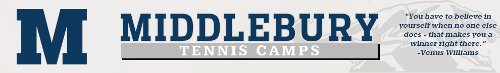 Middlebury Tennis Camps